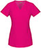Photograph of Xtreme Stretch Women's Mock Wrap Top Pink 85956-HPKZ