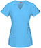Photograph of Xtreme Stretch Women's Mock Wrap Top Blue 85956-ITQZ