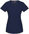 Photograph of Xtreme Stretch Women's Mock Wrap Top Blue 85956-NVYZ