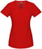 Photograph of Dickies Xtreme Stretch Mock Wrap Top in Red