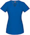 Photograph of Dickies Xtreme Stretch Mock Wrap Top in Royal