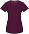 Photograph of Dickies Xtreme Stretch Mock Wrap Top in D-Wine