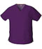 Photograph of Dickies EDS Signature V-Neck Top in Eggplant