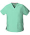 Photograph of Dickies EDS Signature Women's V-Neck Top Blue 86706-MTSZ