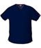 Photograph of EDS Signature Women V-Neck Top Blue 86706-NVWZ