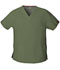 Photograph of EDS Signature Women's V-Neck Top Green 86706-OLWZ