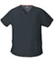 Photograph of Dickies EDS Signature Women's V-Neck Top Gray 86706-PTWZ