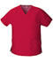Photograph of Dickies EDS Signature Women's V-Neck Top Red 86706-REWZ