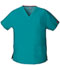 Photograph of EDS Signature Women V-Neck Top Blue 86706-TLWZ