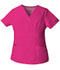 Photograph of Dickies EDS Signature Women's Mock Wrap Top Pink 86806-HPKZ