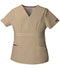 Photograph of Dickies EDS Signature Mock Wrap Top in Dark Khaki