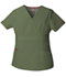 Photograph of EDS Signature Women's Mock Wrap Top Green 86806-OLWZ