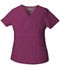 Photograph of Dickies EDS Signature Women's Mock Wrap Top Red 86806-WIWZ