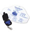 Photograph of Medical Unisex Adsafe Face Shield Plus w/keychain Black AD4056Q-BK