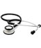 Photograph of student lightweight Unisex ADSCOPE-Ultra Lite Clinician Stethoscope Black AD619-BK