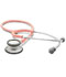 Photograph of student lightweight Unisex ADSCOPE-Ultra Lite Clinician Stethoscope Pink AD619-P