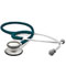 Photograph of student lightweight Unisex ADSCOPE-Ultra Lite Clinician Stethoscope Green AD619-TEA
