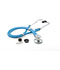 Photograph of critical care cardiology Unisex ADSCOPE641 Sprague Rappaport Stethoscope Blue AD641Q-NEB