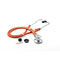 Photograph of critical care cardiology Unisex ADSCOPE641 Sprague Rappaport Stethoscope Orange AD641Q-NEO