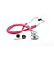 Photograph of critical care cardiology Unisex ADSCOPE641 Sprague Rappaport Stethoscope Pink AD641Q-NEP