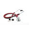 Photograph of critical care cardiology Unisex ADSCOPE641 Sprague Rappaport Stethoscope Red AD641Q-RED