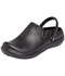 Photograph of Anywear Unisex Plastic Clog Black ALEXIS-BLK
