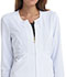 Photograph of Fearless Women's Zip Front Jacket White CA300-WHT