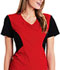 Photograph of Careisma Fearless Women's V-Neck Top Red CA605-REBK