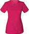 Photograph of Code Happy Cloud Nine Women's V-Neck Top Pink CH602A-BICH