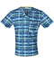 Photograph of Code Happy Men's Men's V-Neck Blue CH605X5A-TRPL