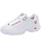 Photograph of K-Swiss Women's Footwear Athletic with foam insoles White,Pink CMFST329-WHP