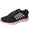 Photograph of K-Swiss Women's Athletic with Foam insoles Black,PinkLemonade,White CMFXLITE-BPLW