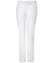 Photograph of Gen Flex Women's Low Rise Straight Leg Drawstring Pant White DK100-DWHZ