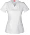 Photograph of Gen Flex Women's V-Neck Top White DK800-DWHZ