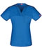 Photograph of Gen Flex Unisex Unisex V-Neck Top Blue DK801-RYLZ