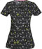 Photograph of HeartSoul Prints Women's V-Neck Top Birds In Paradise HS610X3-BDPA