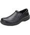 Photograph of Medical Footwear Men's Slip Resistant Mens Step In Footwear Black JACKSON-BLZ
