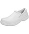 Photograph of Medical Footwear Men's Slip Resistant Mens Step In Footwear White JACKSON-WHT