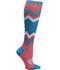 Photograph of Infinity Footwear Women's KICKSTART Coral Blue Chevron KICKSTART-CBCHV
