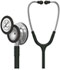 Photograph of student lightweight Unisex Classic III Monitoring Stethoscope Black L5620-BK