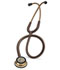 Photograph of student lightweight Unisex Classic III Monitoring Stethoscope SF Brown L5809CPR-CHO