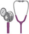 Photograph of student lightweight Unisex Classic III Monitoring Stethoscope Purple L5831-PLUM