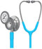 Photograph of student lightweight Unisex Classic III Monitoring Stethoscope Blue L5835-TQ