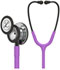Photograph of Littmann Classic III Monitoring Stethoscope MF Purple L5865MF-LV