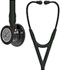 Photograph of critical care cardiology Unisex Cardiology IV Diagnostic Stethoscope SF Black L6162SM-BK