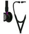 Photograph of critical care cardiology Unisex Cardiology IV Diagnostic Stethoscope Pop Black L6203BE-BK