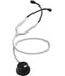 Photograph of MDF Unisex MDF Acoustica Stethoscope Blackout/White MDF747XP-BO29