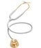 Photograph of MDF Unisex MDF Acoustica Stethoscope Gold/White MDF747XP-K29