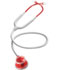 Photograph of MDF Unisex MDF Acoustica Stethoscope Red/White MDF747XP-R29