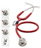 Photograph of MDF Unisex MDF MD One Epoch Titanium Stethoscope Red MDF777DT-17